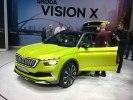 Skoda представила в Женеве концепт газового гибрида Vision X - фото 5