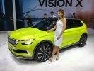 Skoda представила в Женеве концепт газового гибрида Vision X - фото 8