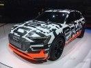 Audi в Женеве проказала прототип полностью электрического кроссовера e-tron - фото 1