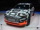 Audi в Женеве проказала прототип полностью электрического кроссовера e-tron - фото 4