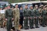 В Киеве прошли масштабные учения с пылающими авто и вертолетом - фото 2