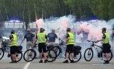 В Киеве прошли масштабные учения с пылающими авто и вертолетом - фото 5