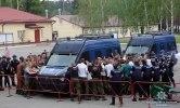 В Киеве прошли масштабные учения с пылающими авто и вертолетом - фото 6