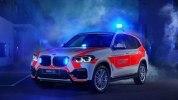 Компания BMW показала пожарный X3 и полицейский MINI - фото 1