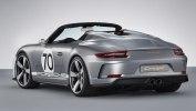Porsche выпустила 500-сильный юбилейный спидстер - фото 3