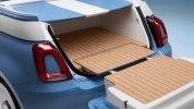 Fiat 500 превратили в «пляжный» пикап со встроенным душем - фото 1