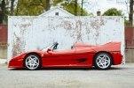 Первый экземпляр Ferrari F50 выставили на продажу - фото 1