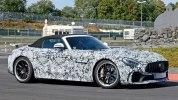 Шпионские фотографии «заряженного» Mercedes-AMG GT R Roadster - фото 3