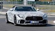Шпионские фотографии «заряженного» Mercedes-AMG GT R Roadster - фото 4