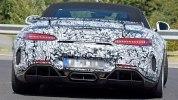 Шпионские фотографии «заряженного» Mercedes-AMG GT R Roadster - фото 5