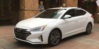 Hyundai представила обновленный седан Elantra - фото 1