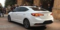 Hyundai представила обновленный седан Elantra - фото 2