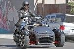 Шпионские фото трицикла Can-Am Spyder F3 EFI 2015 - фото 1