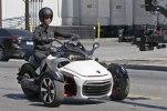 Шпионские фото трицикла Can-Am Spyder F3 EFI 2015 - фото 10