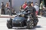 Шпионские фото трицикла Can-Am Spyder F3 EFI 2015 - фото 14