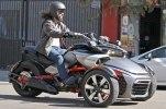 Шпионские фото трицикла Can-Am Spyder F3 EFI 2015 - фото 5
