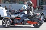 Шпионские фото трицикла Can-Am Spyder F3 EFI 2015 - фото 8