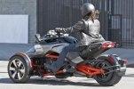 Шпионские фото трицикла Can-Am Spyder F3 EFI 2015 - фото 9