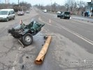 ДТП в Кривом Роге: Mercedes Sprinter разорвал на части ВАЗ - погибла женщина - фото 12
