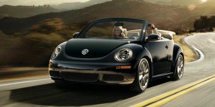 Volkswagen New Beetle Cabriolet 2009