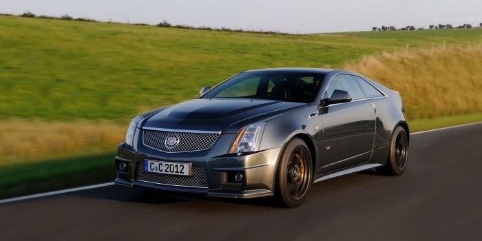 Cadillac CTS-V Coupe 2010