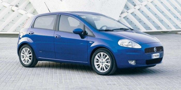 Fiat Grande Punto 5-ти дверный 2005