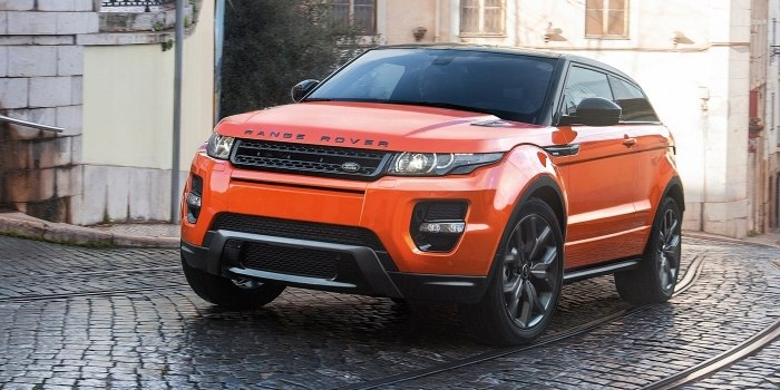 Land Rover Range Rover Evoque Coupe 2011