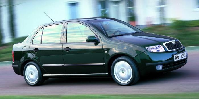 Skoda Fabia Sedan 2001