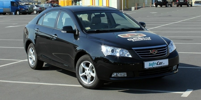 Geely Emgrand 7 (EC7) 2010
