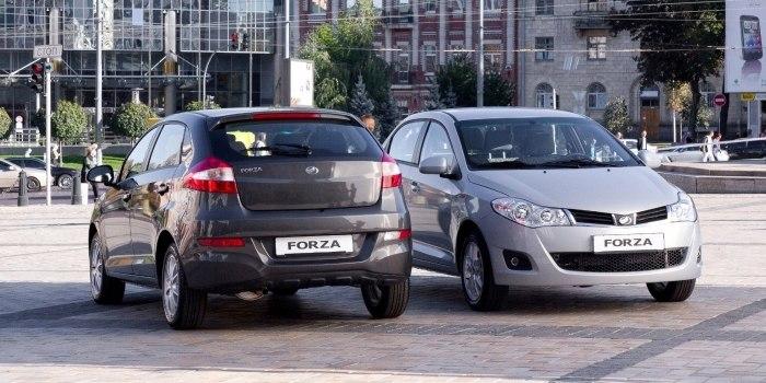 ЗАЗ Forza Hatchback 2011