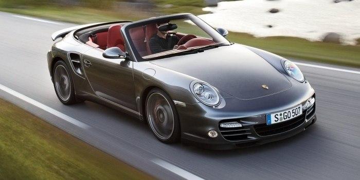 Porsche 911 Turbo Cabriolet 2009