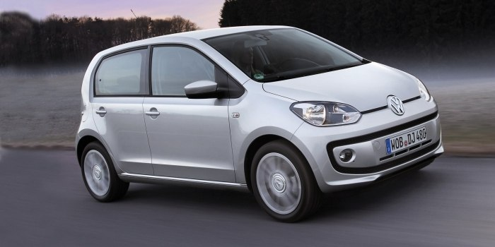 Volkswagen up! 5-ти дверный 2011