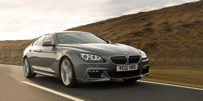 BMW 6 Series Gran Coupe (F06) 2012