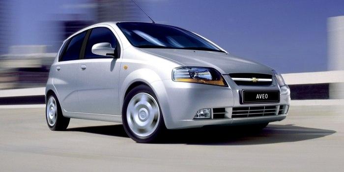 Chevrolet Aveo Hatchback 2002