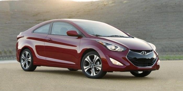 Hyundai Elantra Coupe 2012