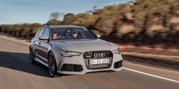Audi RS6 Avant 2012