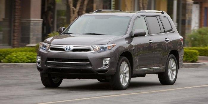 Toyota Highlander Hybrid 2010