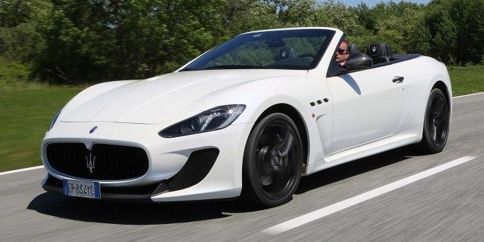 Maserati GranCabrio MC 2012