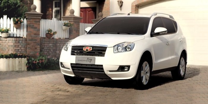 Geely Emgrand X7 2012