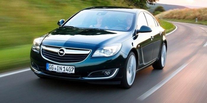 Opel Insignia Notchback 2013