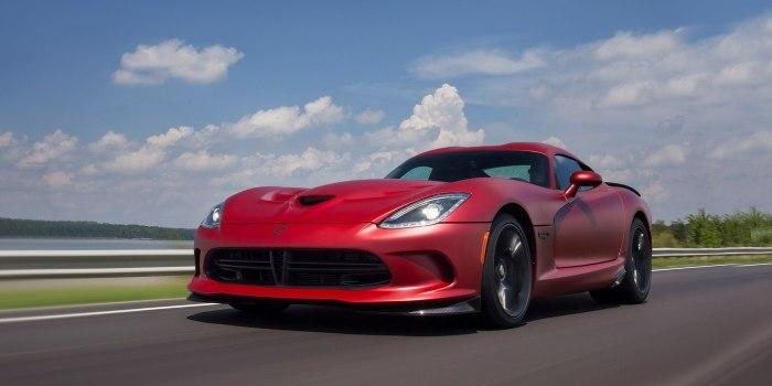 Dodge SRT Viper 2012