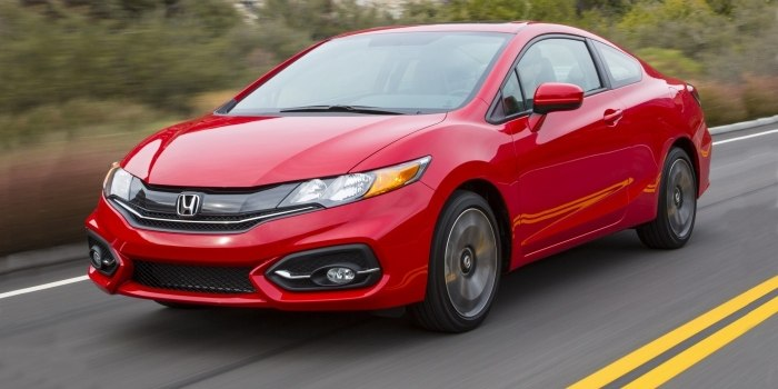 Honda Civic Coupe 2013