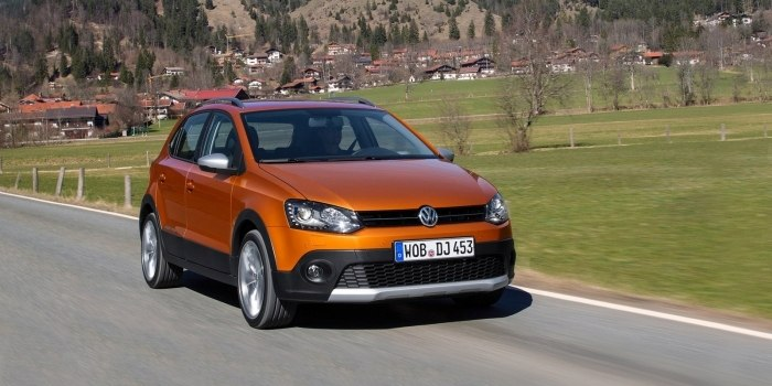 Volkswagen Cross Polo 2014
