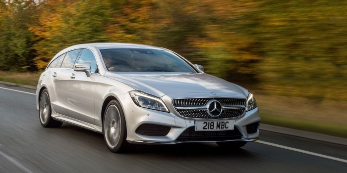 Mercedes CLS Shooting Brake (X218) 2014