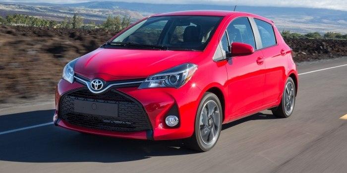Toyota Yaris 5-и дверный 2014