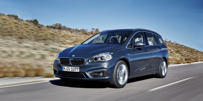 BMW 2 Series Gran Tourer (F46) 2015