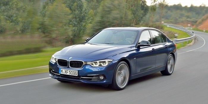 BMW 3 Series Sedan (F30) 2015