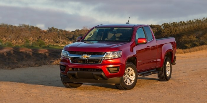 Chevrolet Colorado Extended Cab 2012