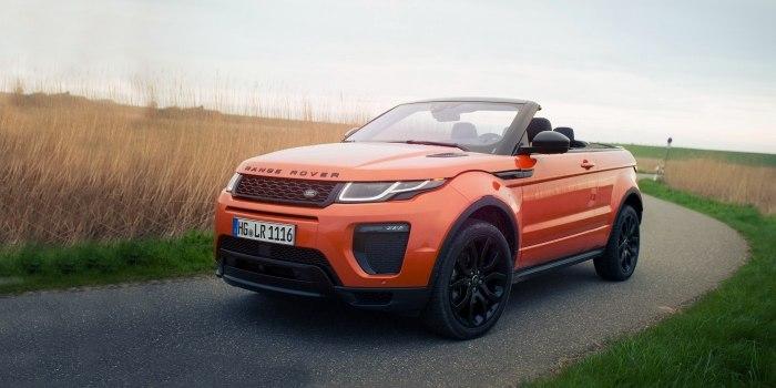 Land Rover Range Rover Evoque Convertible 2015