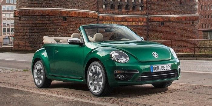 Volkswagen Beetle Cabriolet 2016
